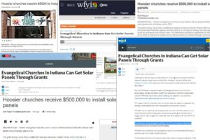 Solar Grant Opportunity in the News